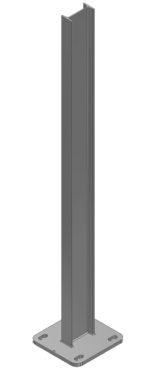 stolpar till montering av bullerskyddsskärmar